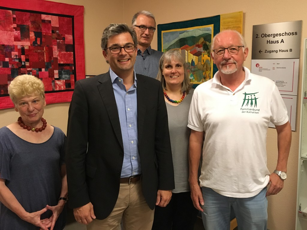 Am 08.09.2016 tagte der  Landesverband des FDK in NRW im katholischen Stadthaus in Essen mit unserem Präsidenten Stefan Becker.